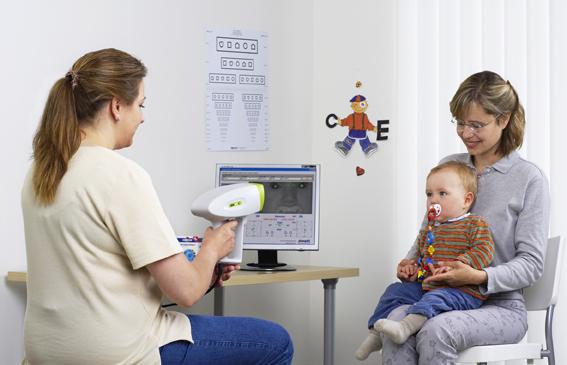 Проверка зрения малыша за секунду теперь доступна и в Рыбинске